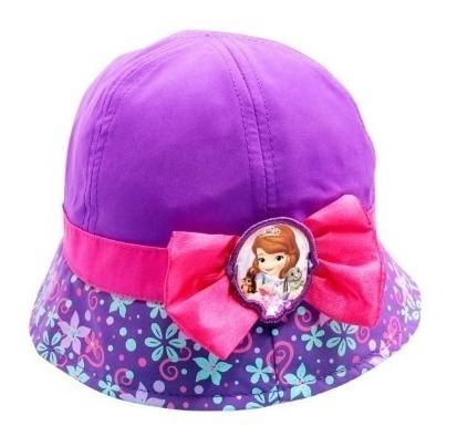 2 Sombreros Pescador Infantil Princesita Sofía Disney Origin