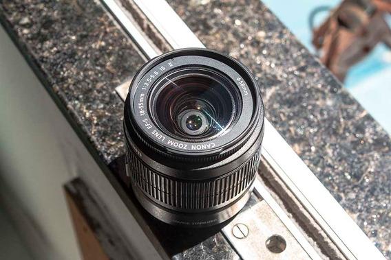 Vendo Ou Troco Lente Canon 18x55mm Ótimo Preço Ler Descrição