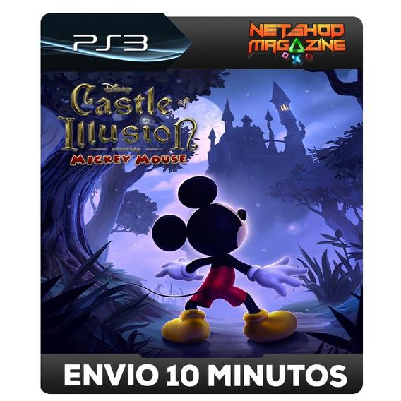 Castle Of Illusion Starring Mickey Mouse - Psn Ps3 Envio Já