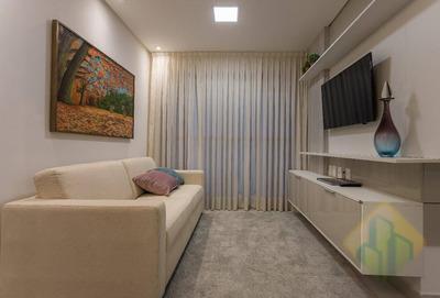 Lançamento! - Apartamento Com 2 Dormitórios À Venda, 61 M² Por R$ 337.850 - Tambauzinho - João Pessoa/pb - Cod Ap0843 - Ap0843