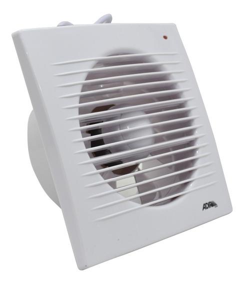 Extractor Ducto Aire Baño 6 Pulgadas Silencioso Blanco