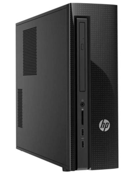 Computador Hp 200 G1 Slim Tower Com Processador Intel® Cel