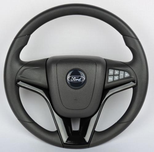 Imagem 1 de 3 de Volante Camaro Comando De Som Ford F100 F1000 Preto Completo