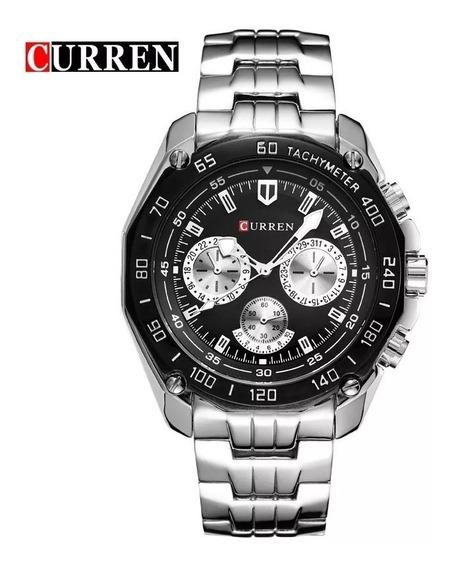 Relógio Curren 8077 Original Masculino + Envio 24hrs