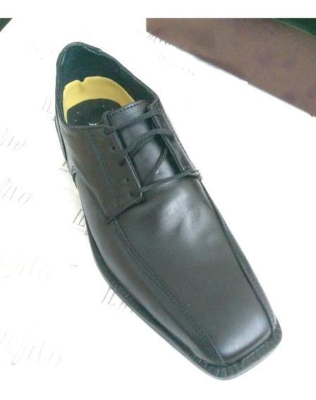 Zapato De Hombre Corte Italiano Con Cordones