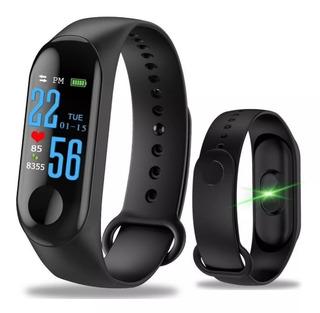 Pulseira Inteligente Smartband M3 Monitor Cardíaco - 3 Pçs