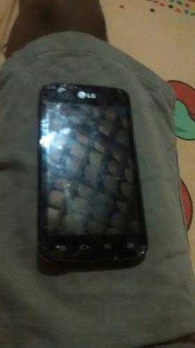 Imagem 1 de 5 de Celular LG Com A Tela Preta I O Disprei Quebrado