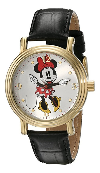 Reloj Brazalete De Minnie Mouse Para Mujer