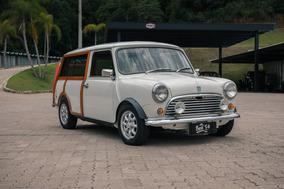 Mini Morris Traveller 1974 - Raridade (mini Cooper Clubman)
