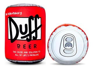 Puff Almohadón Duff Lata Cerveza Simpsons