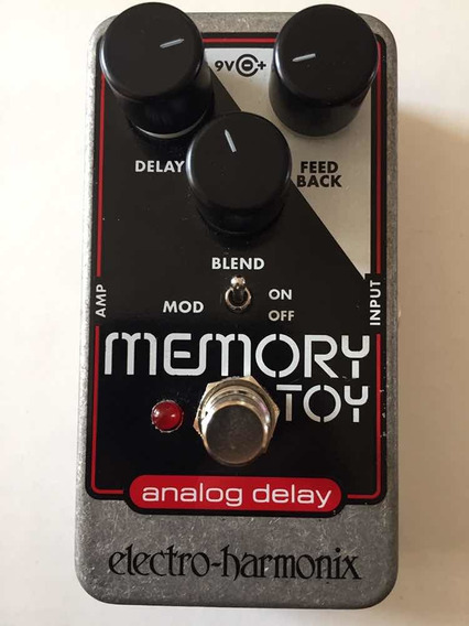 Pedal Memory Toy Electro Harmonix - Novíssimo! - Trocas