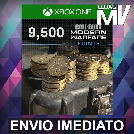 9500 Coins Call Of Duty Modern Warfare 25 Dígitos Xbox One