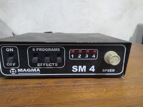 Sequêncial De Tempo De Potência 4 Canais Magma