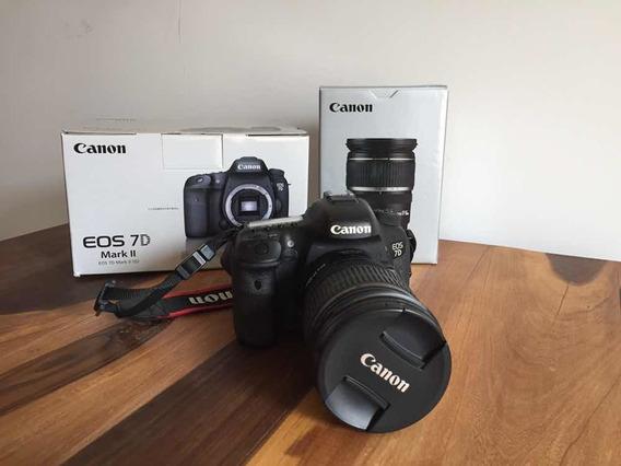 Cámara 7d Mark Ii Con Lente Canon 17-55 F2.8 Escuchó Ofertas