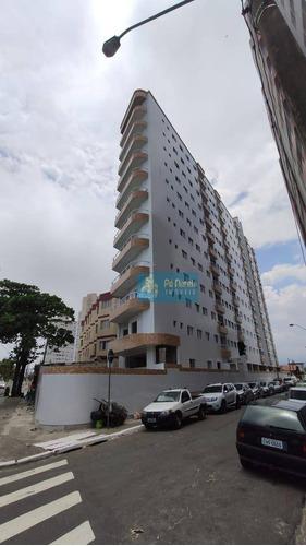 Apartamento Com 2 Dormitórios À Venda, 55 M² Por R$ 260.000,00 - Mirim - Praia Grande/sp - Ap0897