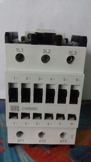 Contactor Weg 30hp 80amp Cwm80
