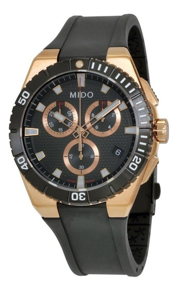 Relógio Mido Ocean Star Captain M023.417.37.051.00 Rose Gold