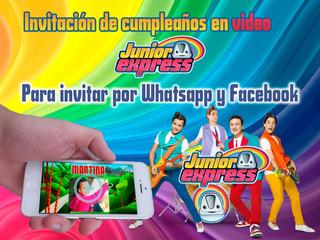 Tarjetas De Cumpleaños De Junior Express En Mercado Libre