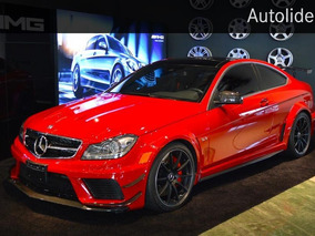 Mercedes Benz C63 Amg Coupe Black Series 2012 Impecable!
