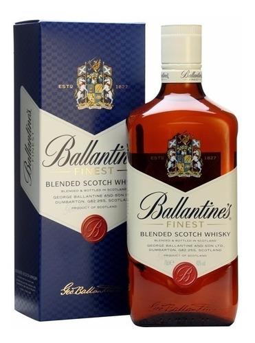 Whisky Ballantines Finest 1000ml En Estuche