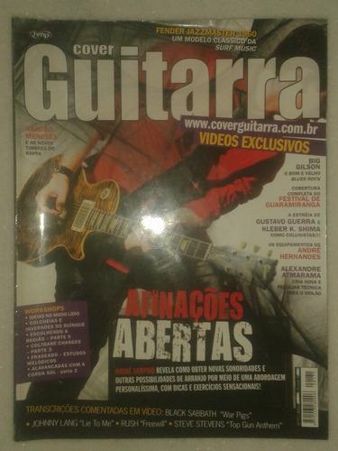Revista Cover Guitarra - Afinações Abertas
