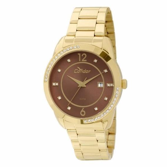 Relógio Condor Feminino Dourado Analógico - Co2115tn/4m
