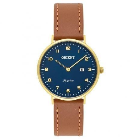 Relógio Orient Slim Couro Feminino Fgscs001 Original