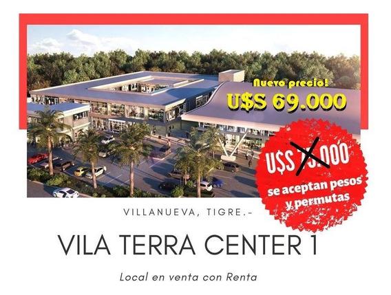 Local Pa Venta Con Renta Vila Terra 1, Villanueva