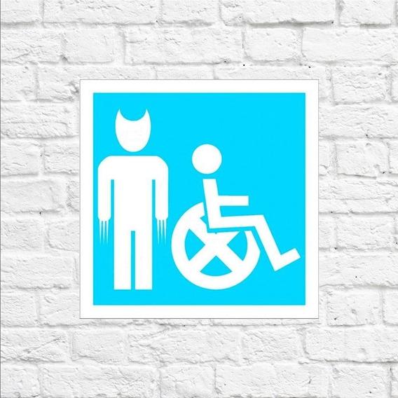 Placa De Parede Decorativa Cadeira X Shopb Pronta Entrega