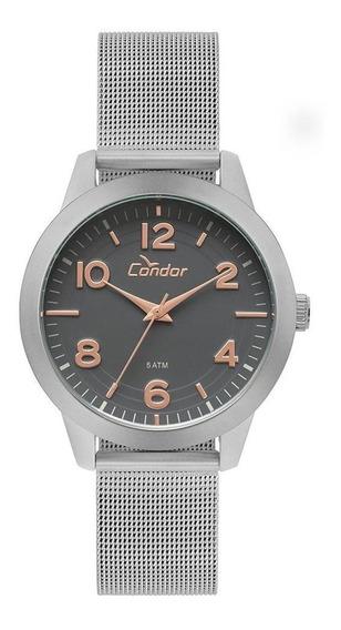 Relógio Condor Feminino Bracelete Prata - Co2036kup/3c