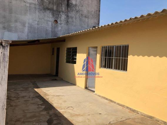 Casa Com 1 Dormitório Para Alugar, 60 M² Por R$ 600,00/mês - Campo Limpo - Americana/sp - Ca1343