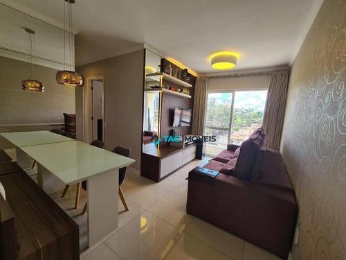 Imagem 1 de 15 de Apartamento Com 3 Dormitórios À Venda, 60 M² Por R$ 385.000,00 - Parque Itália - Campinas/sp - Ap2779