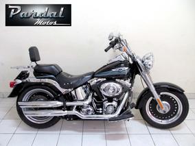 Harley Davidson Fat Boy Especial 2008 Preta