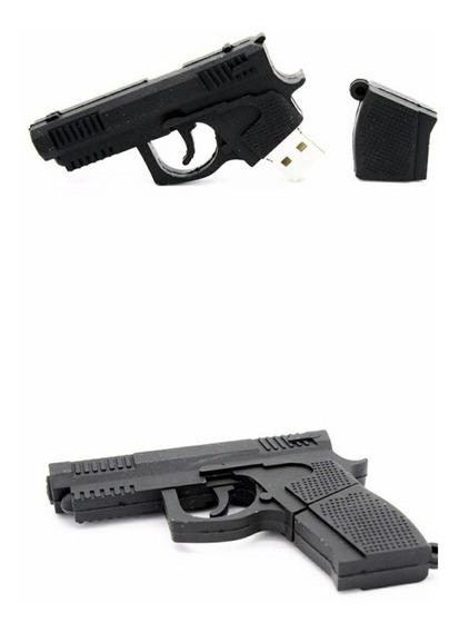 Pendrive Personalizado Pistola 16gb - Pronta Entrega