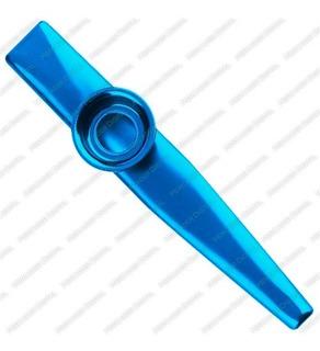 Kazoo Instrumento Musical Flauta Diafragma De Metal + Envío