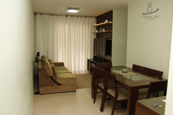 Apartamento Com 3 Dormitórios À Venda, 65 M² Por R$ 298.000 - Vila São Pedro - Santo André/sp - Ap1186