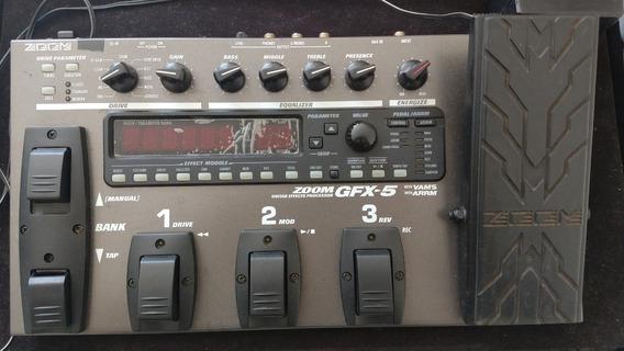 Pedaleira Zoom Gfx-5 + Fonte + Case Kgb