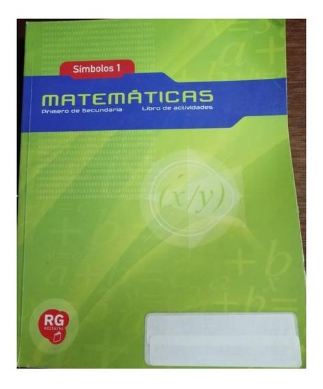 Símbolos 1 Matemáticas Primero Secundaria González De Anda