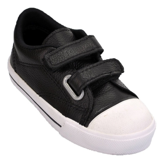 Zapatillas Infantiles Topper X Forcer Original Negro