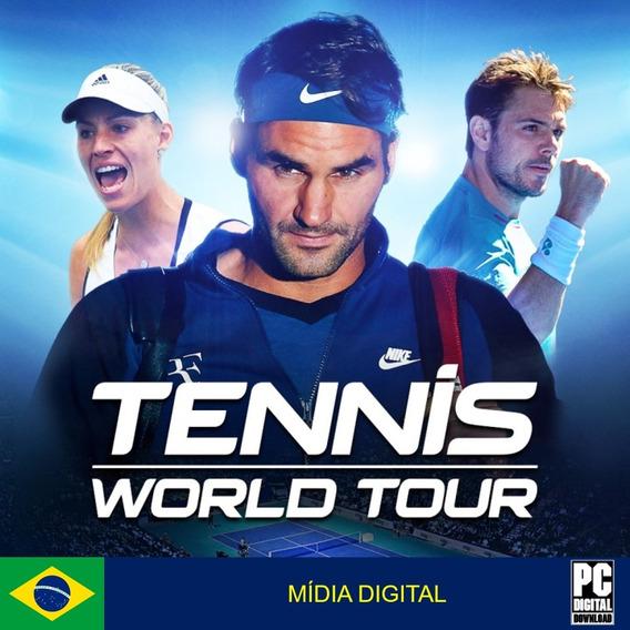 Tennis World Tour Pc Original Envio Digital Imediato!