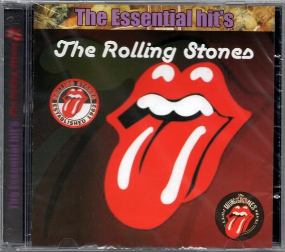 Cd Rolling Stones The Essential Hits - Novo Original Lacrado
