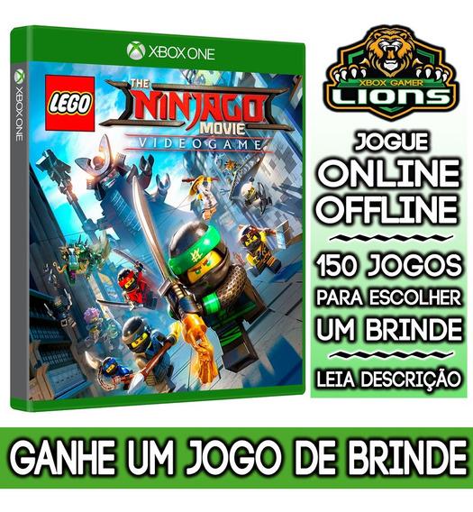 Lego Filmes Nijango E Videogame Xbox One + Brinde