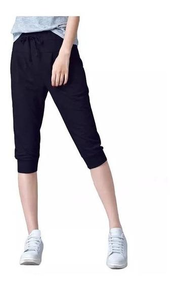 Comodo Pantalon Corto Pants Ligero Fresco Para Mujer 5215
