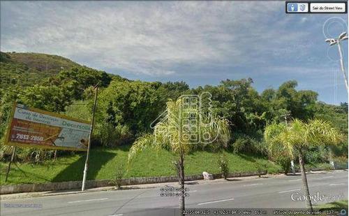 Área À Venda, 29000 M² Por R$ 5.500.000,00 - Piratininga - Niterói/rj - Ar0017