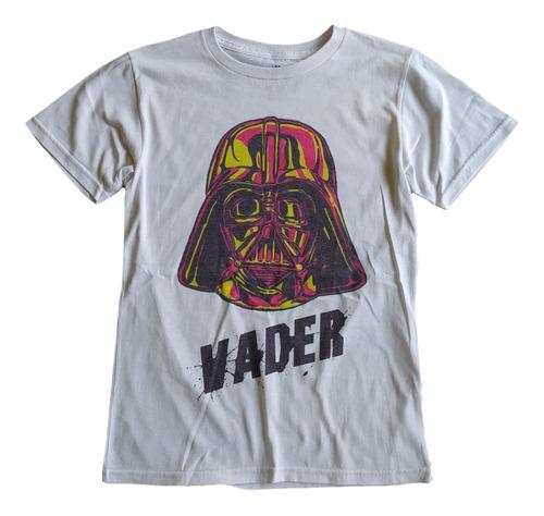 Imagen 1 de 4 de T Shirt Tee King Darth Vader Star Wars Playera Hombre