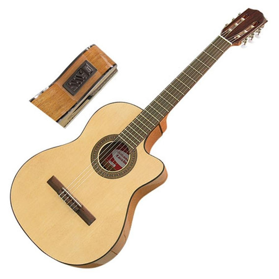 Guitarra Electroacústica Gracia M10 Eq C/cuerdas De Nylon