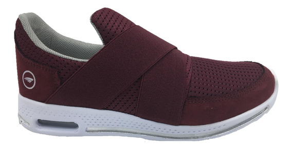Tenis Urbanos Para Dama 316 Slip On Malla Resorte
