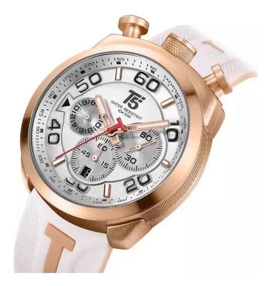 Reloj T5i White Sport Cronógrafo Sumergible / Cómpralo Ya!