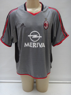 Camisa De Futebol Do A.c. Milan 2003 - 2004 adidas Meriva