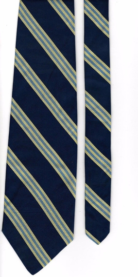 Corbata Brooks Brothers Rayas 100% Silk